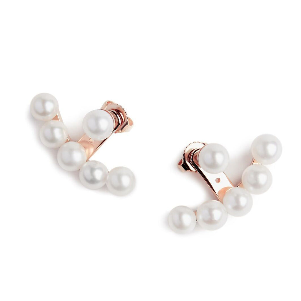 Pearl Earjacket Earrings
