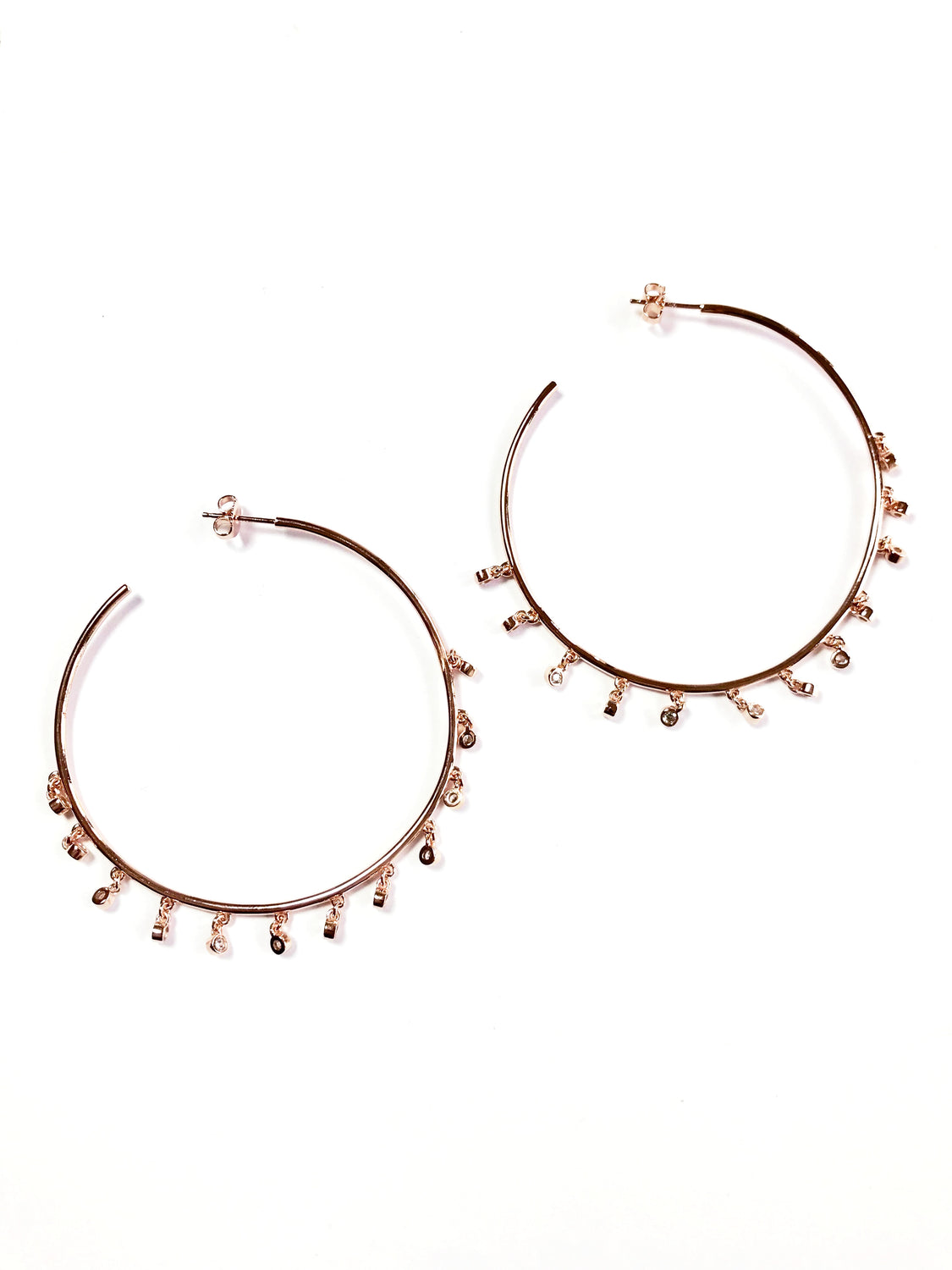Confetti Hoop Earrings