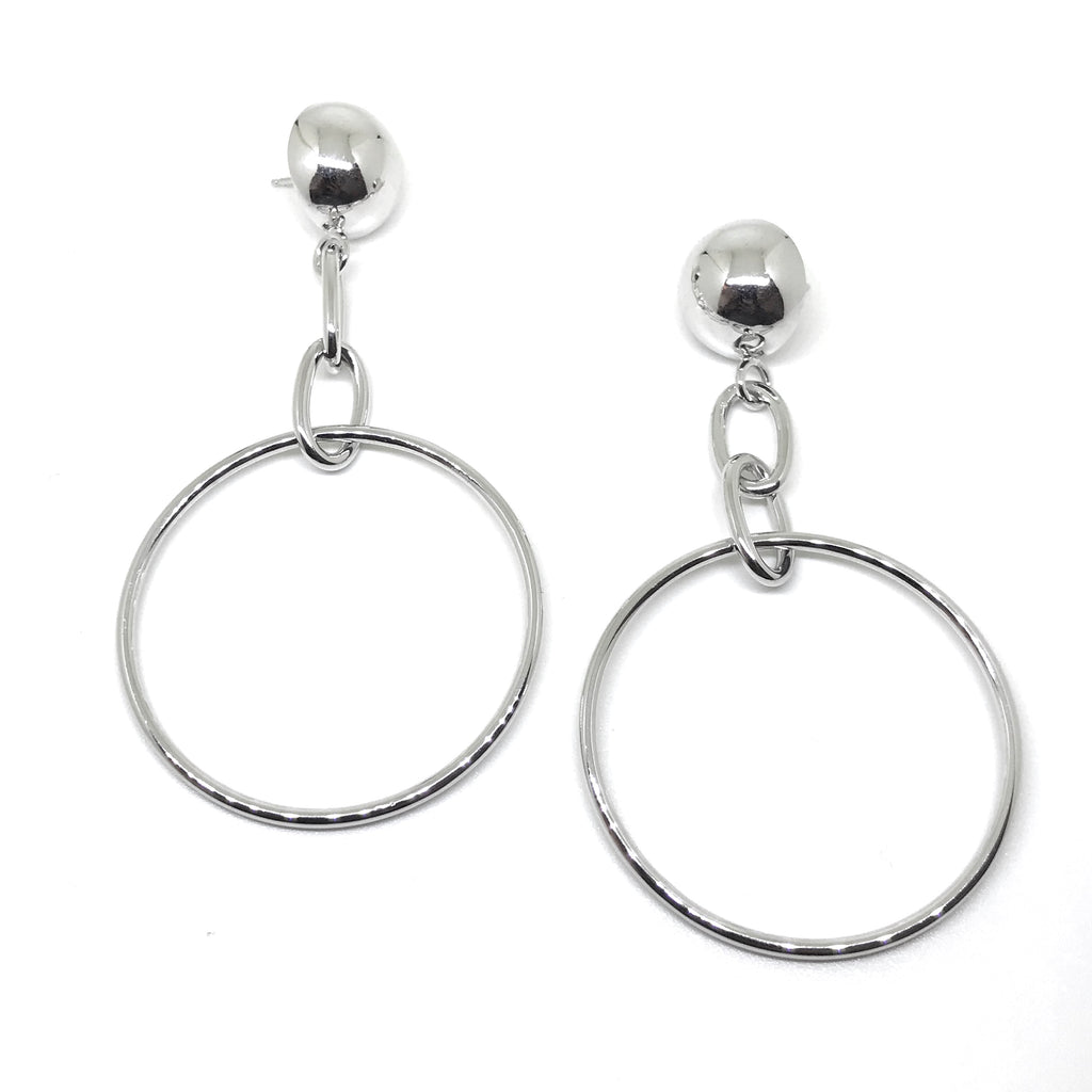 Sphere Long Earrings