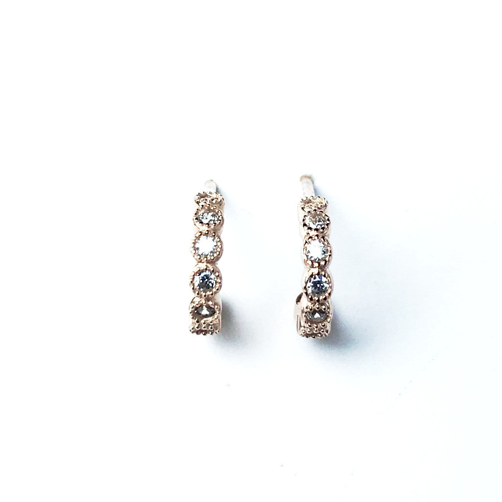 Mini Creoles Earrings