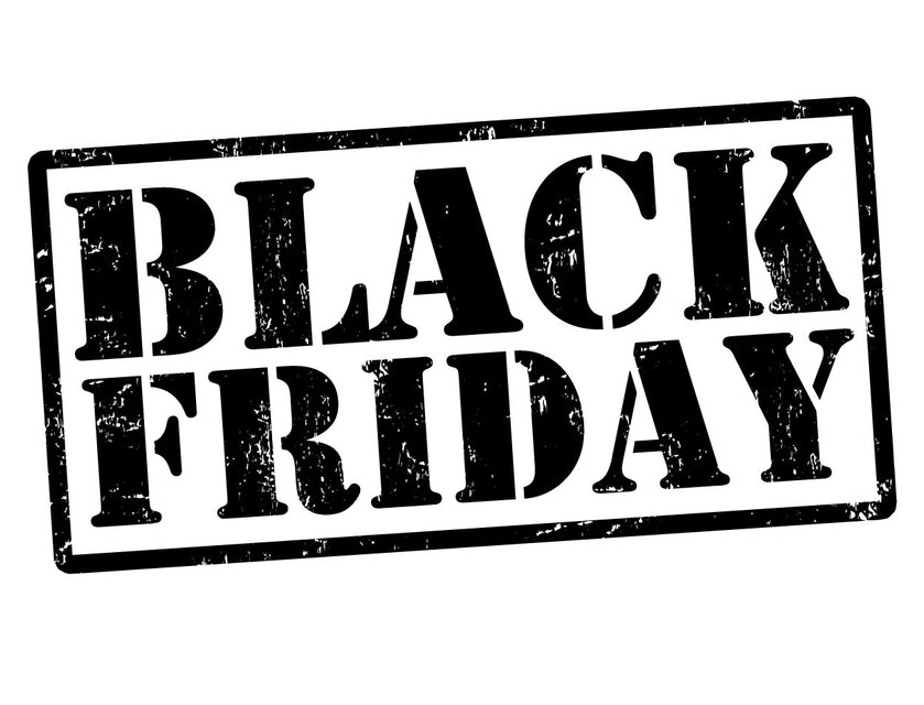 Black Friday 2017 and Holiday Notice
