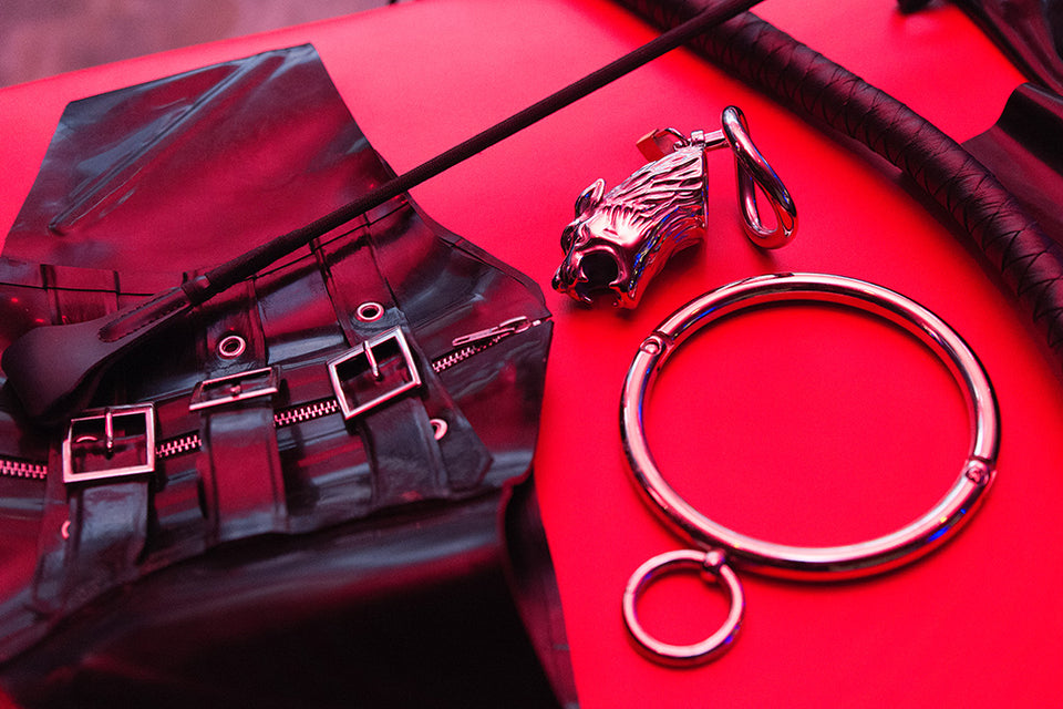 Chastity Stories: Play Session #1 at the Secret Dungeon