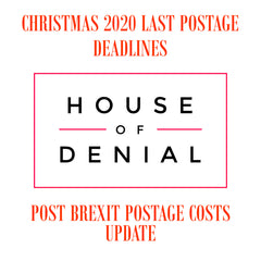 Christmas 2020 Posting Dates and Post Brexit Postage Pricing