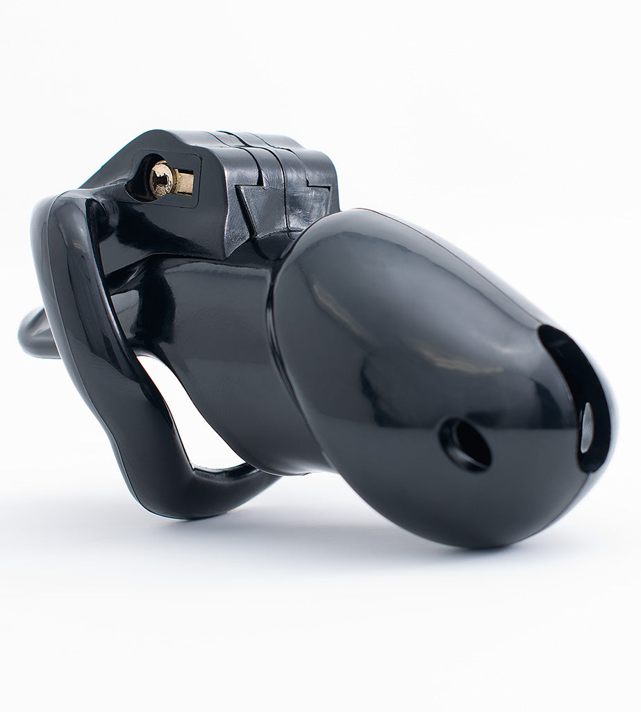 Standard black Holy Trainer V3 chastity device