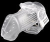 Standard size clear HoD373 male chastity device