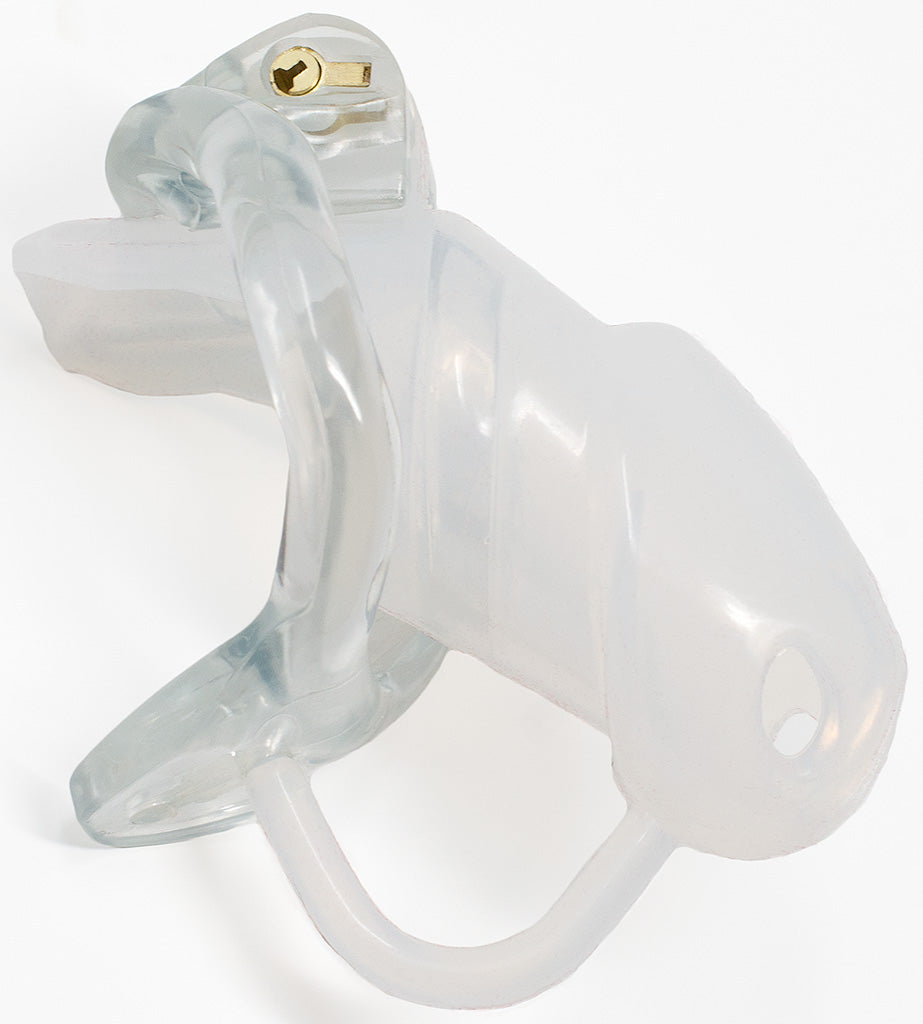 Clear Holy Trainer V2 ultra male chastity device