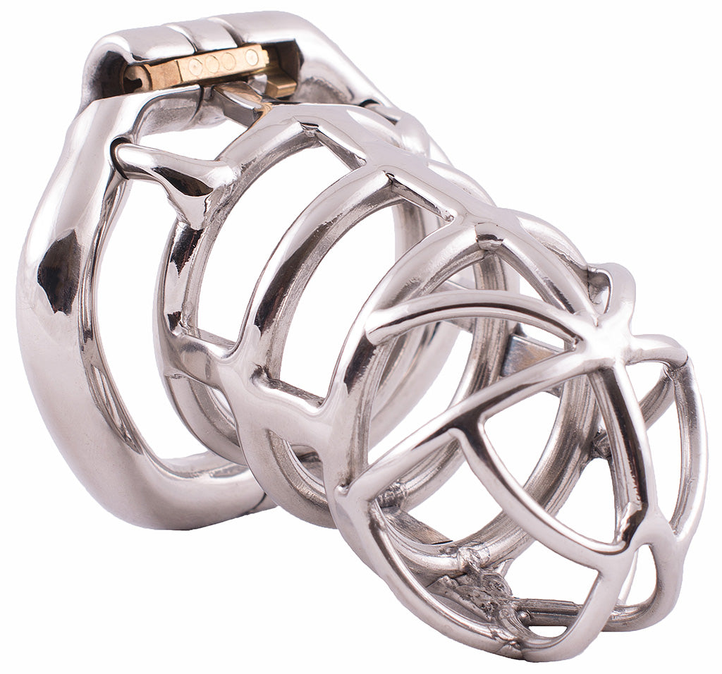 Steel HoD S106 male chastity device