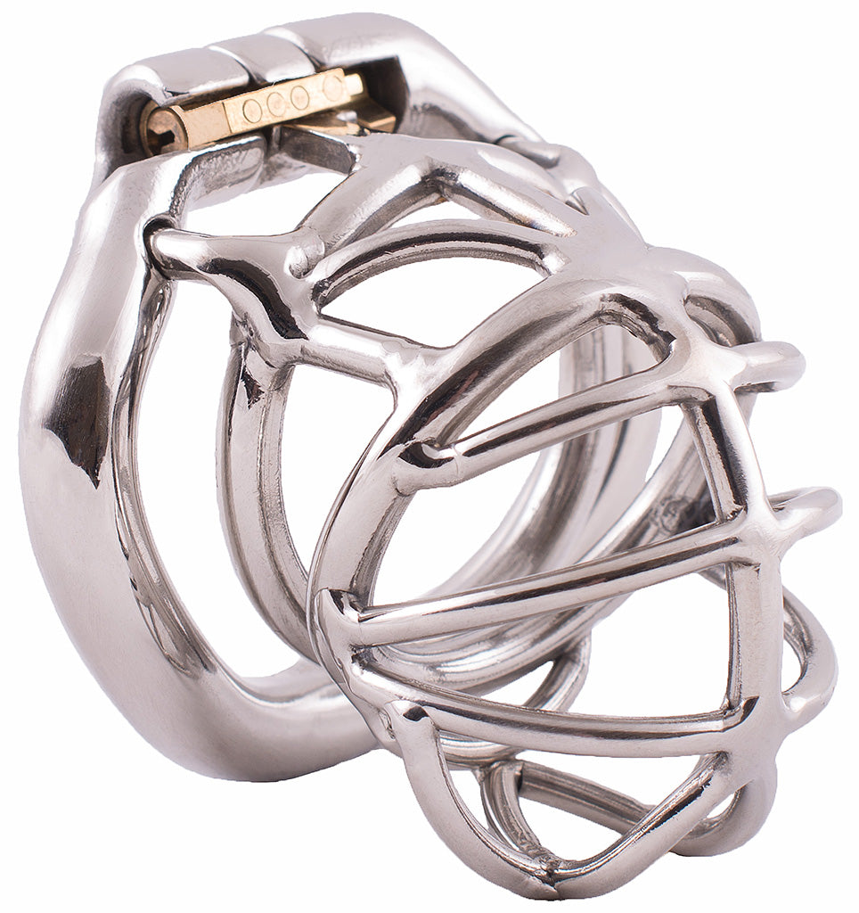 Steel HoD S107 male chastity device