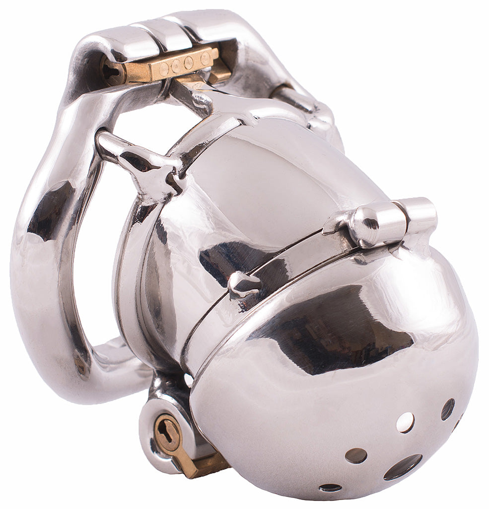 Steel HoD S108 male chastity device
