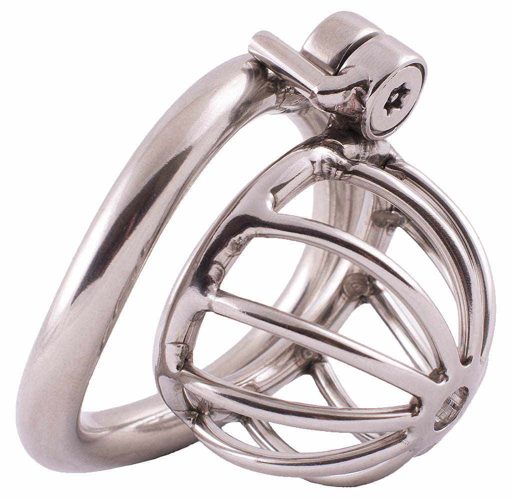 Steel HoD S111 ultra small male chastity device