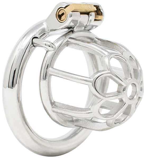 JTS S205 small chastity device with a circular ring