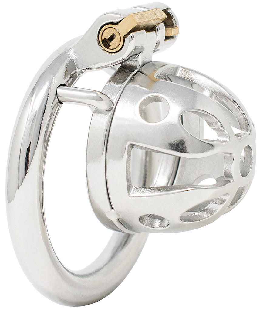 JTS S213 small chastity device with a circular ring