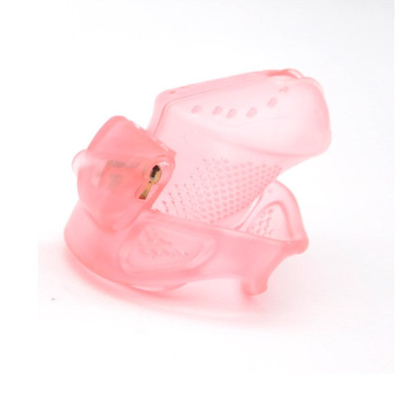 Small size pink HoD373 male chastity device