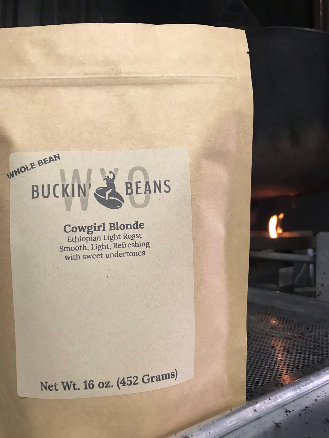Cowgirl Blonde (Light Roast) - WYO Buckin' Beans