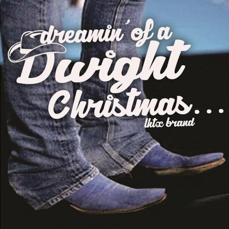 DREAMIN' OF A DWIGHT CHRISTMAS...