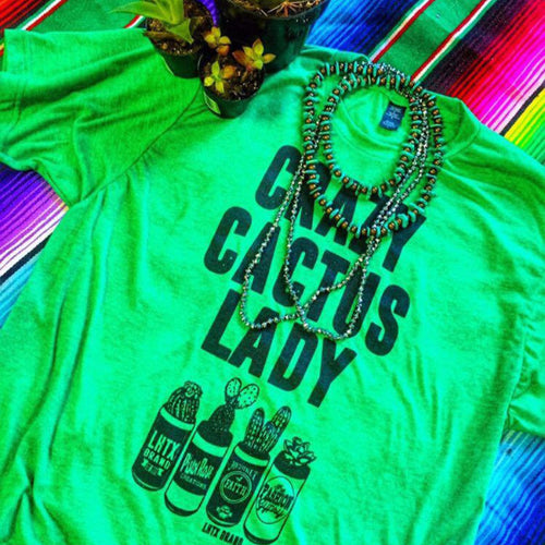CRAZY CACTUS LADY - SSCT