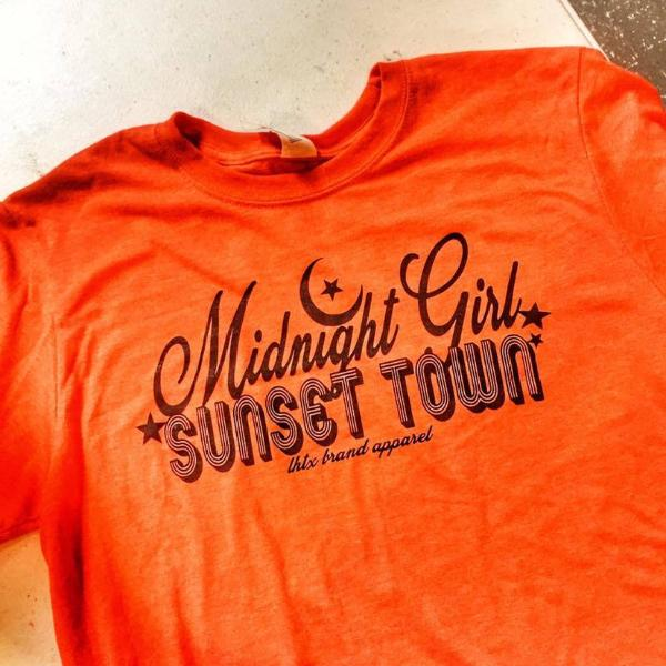 MIDNIGHT GIRL SUNSET TOWN - SSCT