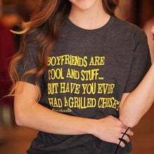 BOYFRIENDS ARE COOL AND STUFF... BUT HAVE YOU EVER HAD A GRILLED CHEESE? - SSCT
