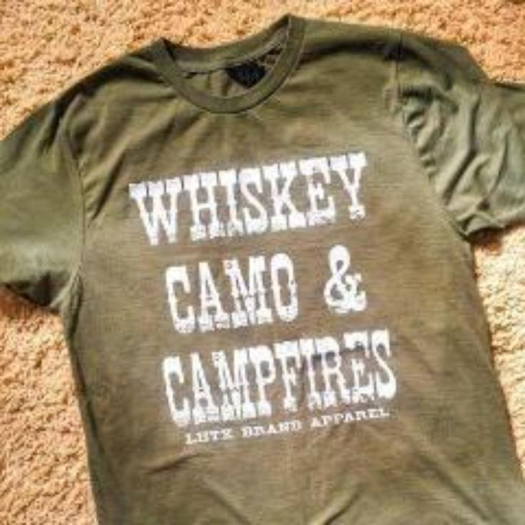 WHISKEY, CAMO & CAMPFIRES - RHSNT