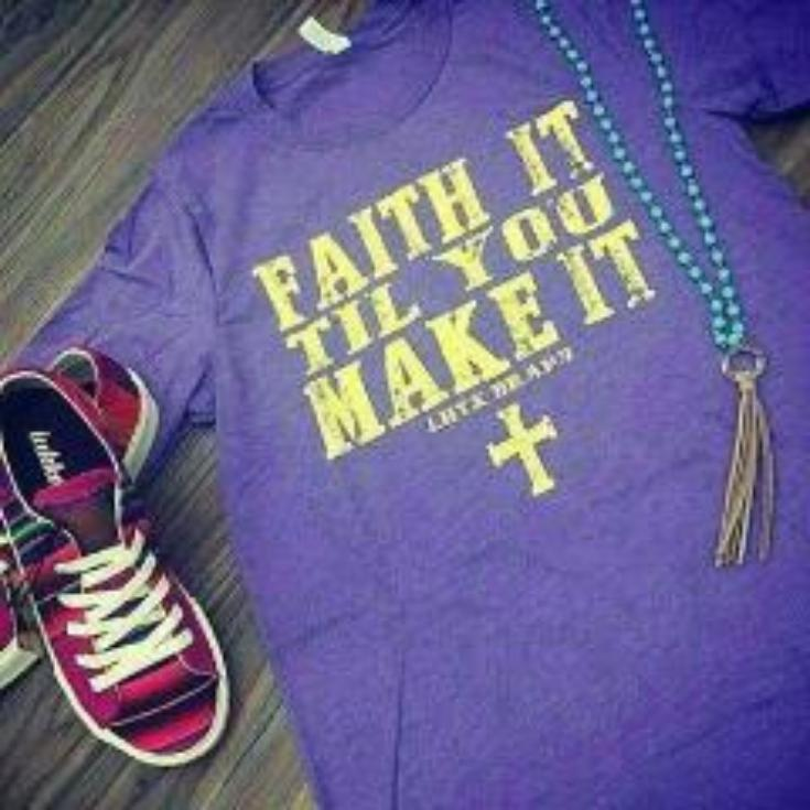 FAITH IT TIL YOU MAKE IT - LIM INSTOCK SSCT