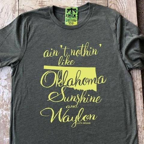 AIN'T NOTHIN' LIKE OKLAHOMA SUNSHINE & WAYLON - RHSNT