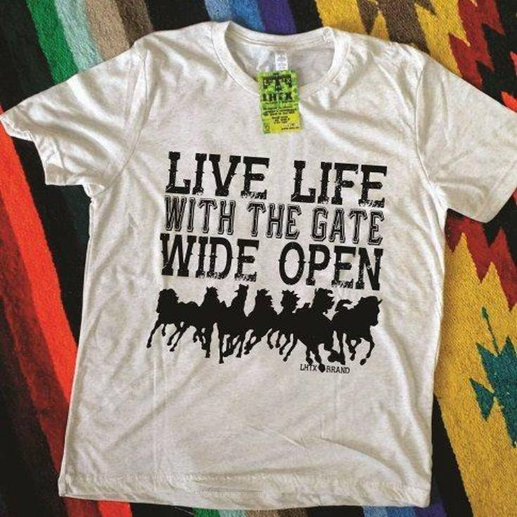 LIVE LIFE WITH THE GATE WIDE OPEN - SSCT