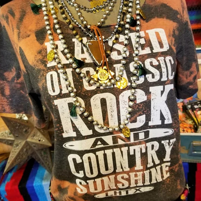 RAISED ON CLASSIC ROCK AND COUNTRY SUNSHINE - SSCT