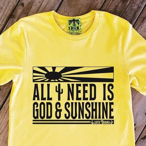 ALL I NEED IS GOD & SUNSHINE - MRT