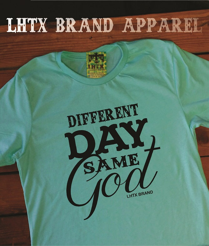 DIFFERENT DAY SAME GOD - SSCT