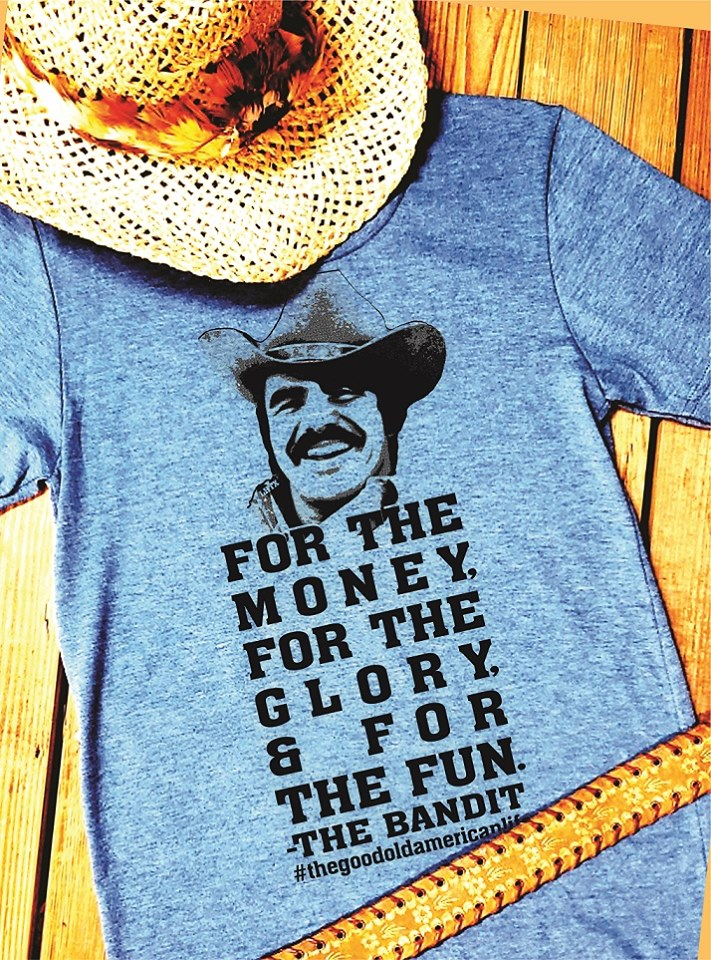 FOR THE MONEY FOR THE GLORY & FOR THE FUN - THE BANDIT #THEGOODOLDAMERICANLIFE - SSCT