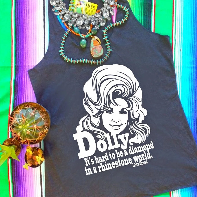 DOLLY - IT'S HARD TO BE A DIAMOND IN A RHINESTONE WORLD  - SSCT