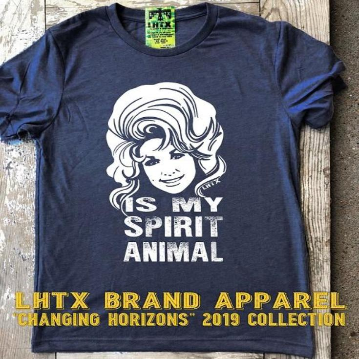 DOLLY IS MY SPIRIT ANIMAL WITH DOLLY GRAPHIC - INSTOCK SSCT
