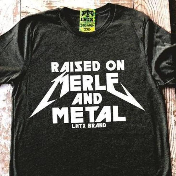 RAISED ON MERLE AND METAL - SSCT