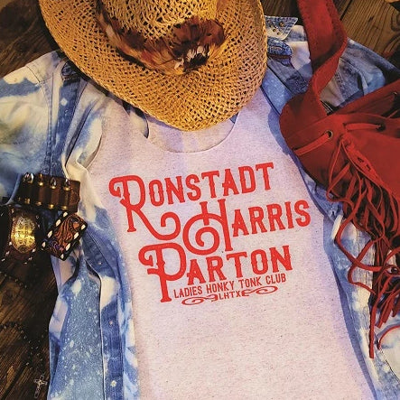 RONSTADT HARRIS PARTON- LADIES HONKY TONK CLUB - SSCT