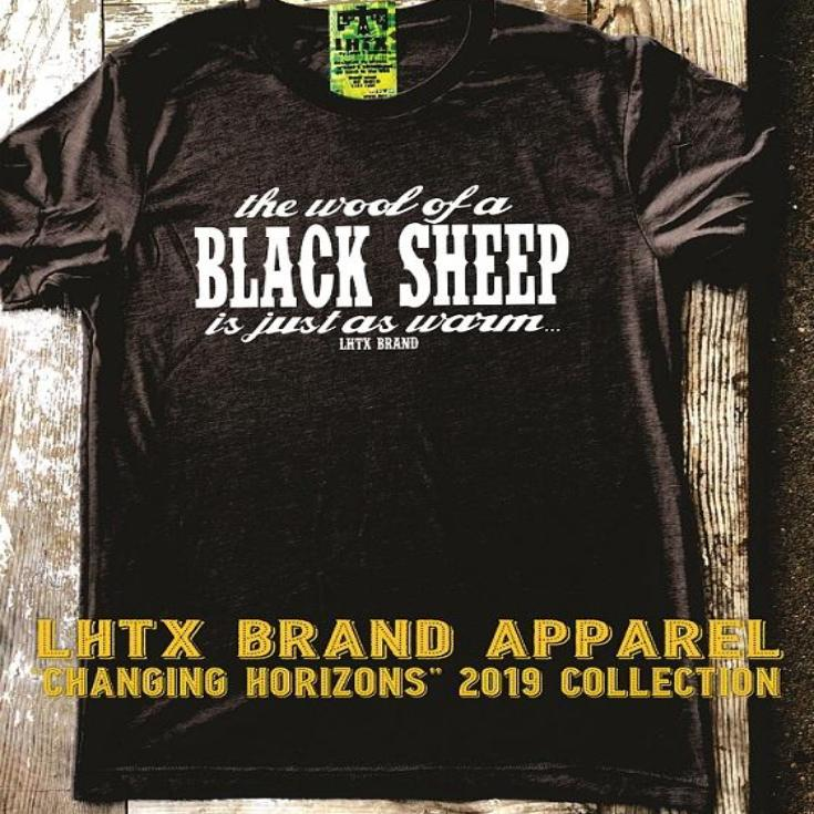 THE WOOL OF A BLACK SHEEP IS JUST AS WARM - VNT