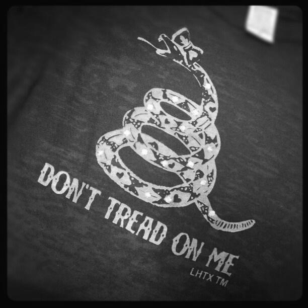DON'T TREAD ON ME - SSCT
