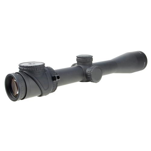 AccuPoint 2.5-12.5x42mm Riflescope - 30mm Main Tube with BAC Red Triangle Post Reticle, Matte Black