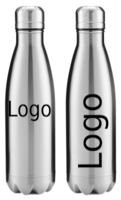 Custom Engraved 18 oz Stainless Steel Double Wall Insulated Bottle