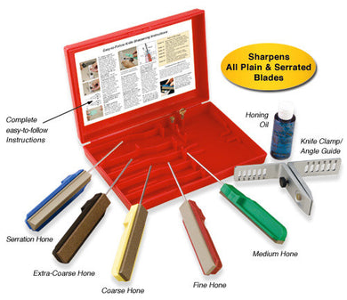Edgemate Professional Knife Sharpening System 5Pc set