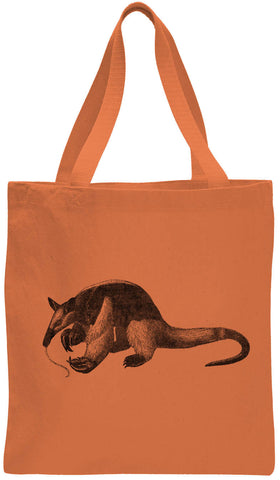 Austin Ink Apparel Hungry Anteater Cotton Canvas Tote Bag