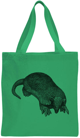 Austin Ink Apparel Little Armadillo Cotton Canvas Tote Bag