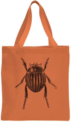 Austin Ink Apparel Fat Beetle Cotton Canvas Tote Bag