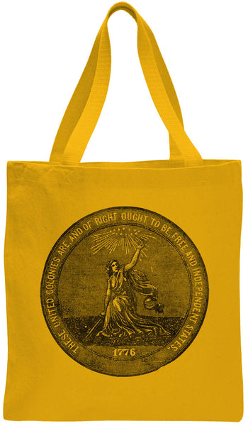 Austin Ink Apparel 1876 Centennial Exposition Cotton Canvas Tote Bag
