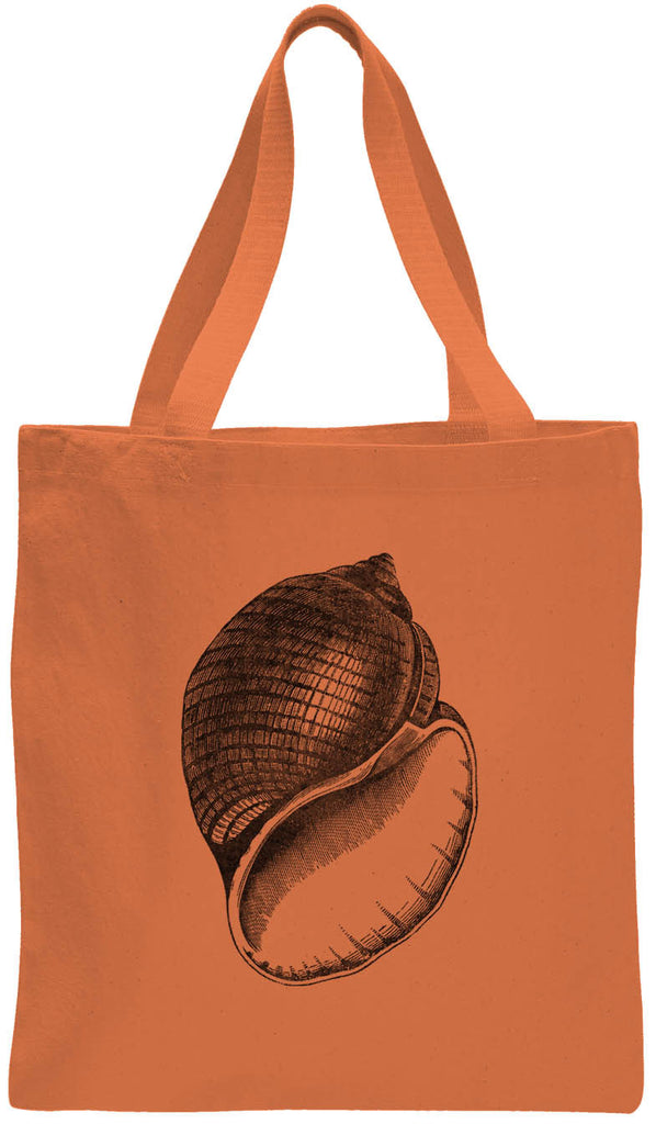 Austin Ink Apparel Antique Shell Cotton Canvas Tote Bag