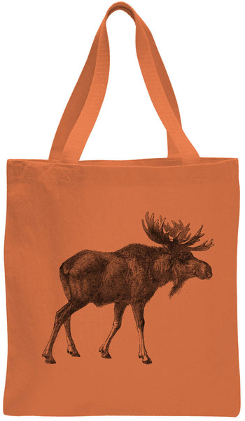 Austin Ink Apparel Alaskan Moose Cotton Canvas Tote Bag