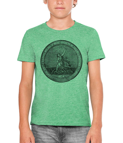 Austin Ink Apparel 1876 Centennial Exposition Unisex Kids Short Sleeve Printed T-Shirt