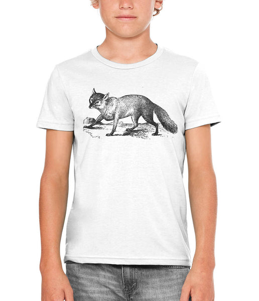 Printed In The Usa Austin Ink Apparel Sly Fox Unisex Kids Short Sleeve Printed T Shirtin Color Berry Pink Size Large