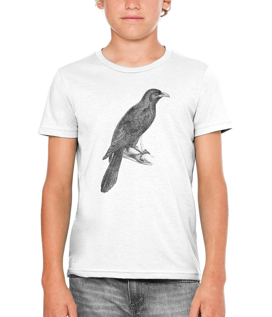 Austin Ink Apparel Asian Koel Bird Unisex Kids Vintage Printed T-Shirt