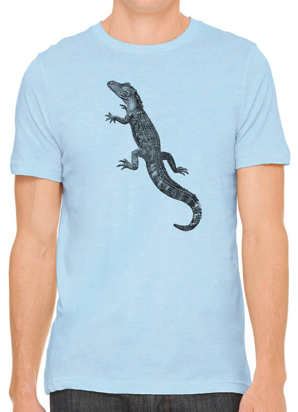 Austin Ink Apparel American Alligator Short Sleeve Cotton Mens T-Shirt