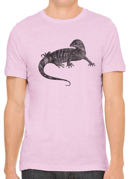 Austin Ink Apparel African Monitor Lizard Short Sleeve Cotton Mens T-Shirt